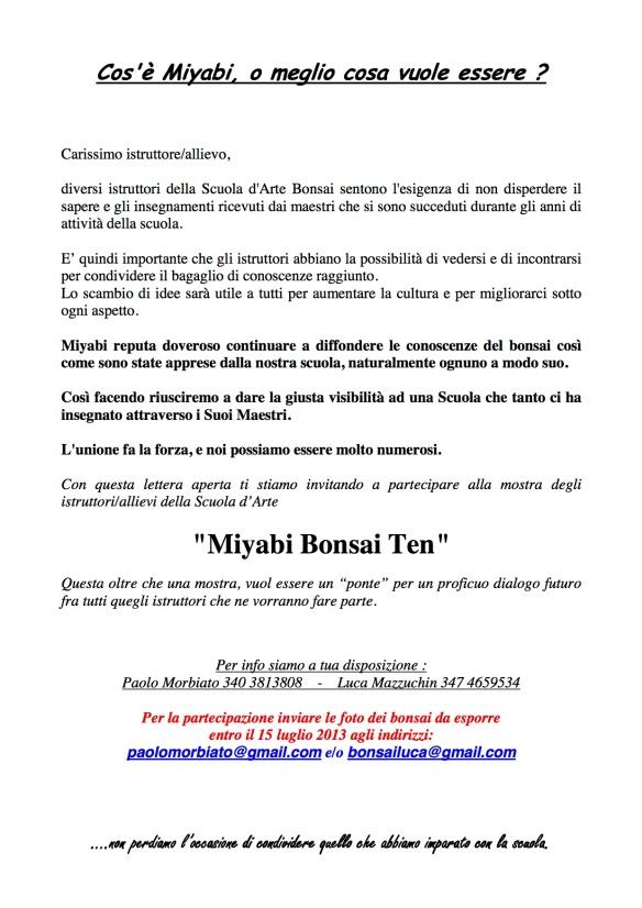 Invito Mostra Miyabi