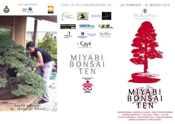 Pieghevole Miyabi provvisorio 2015 A4