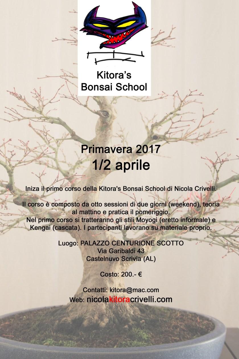 1° kitora school primavera italia aprile